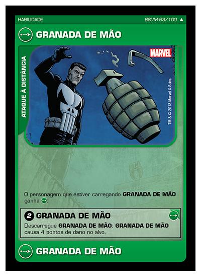 Battle Scenes BSUM 063 Granada de Mão - Incomum