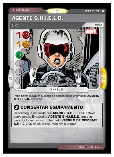 Battle Scenes BSET 002 Agente S.H.I.E.L.D. - Comum