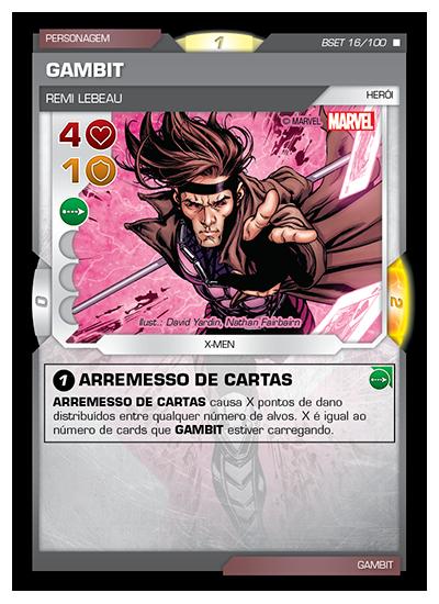 Battle Scenes BSET 016 Gambit - Raro