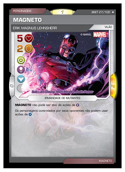 Battle Scenes BSET 027 Magneto - Super Raro