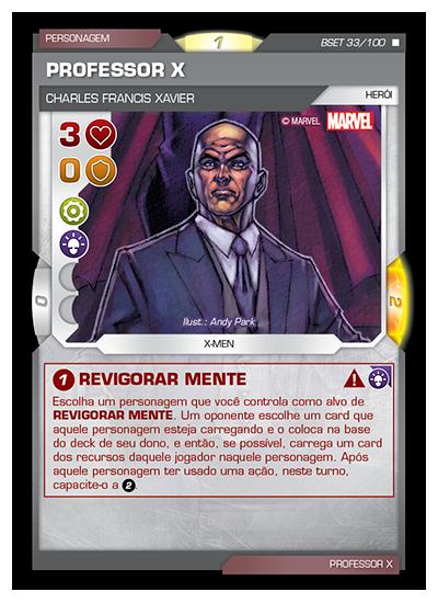 Battle Scenes BSET 033 Professor X - Raro