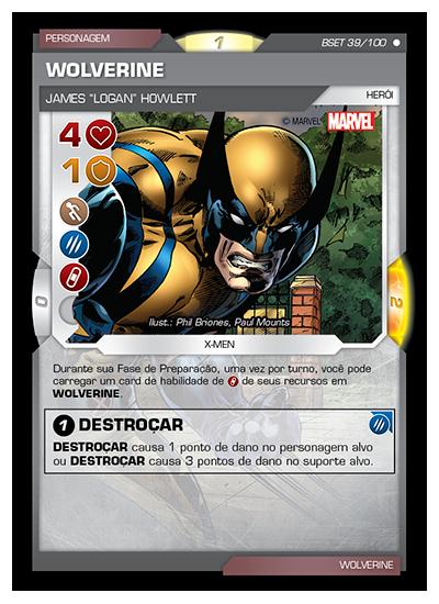 Battle Scenes BSET 039 Wolverine - Comum