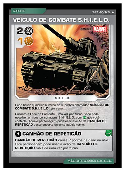 Battle Scenes BSET 047 Veículo de Combate S.H.I.E.L.D. - Incomum