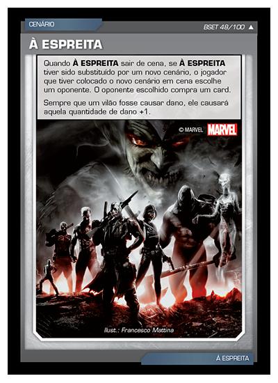 Battle Scenes BSET 048 À Espreita - Incomum