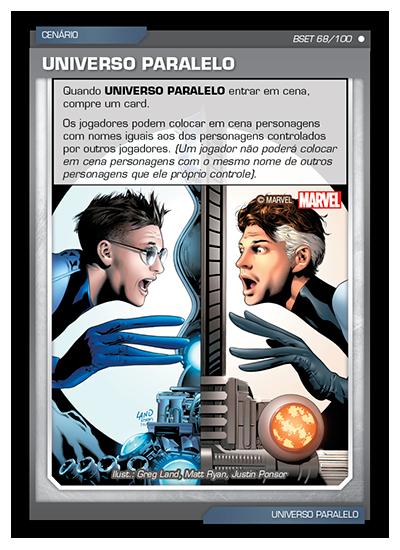 Battle Scenes BSET 068 Universo Paralelo - Comum