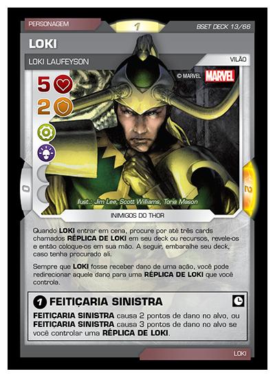 Battle Scenes BSET DECK 013 Loki