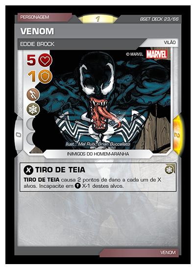 Battle Scenes BSET DECK 023 Venom