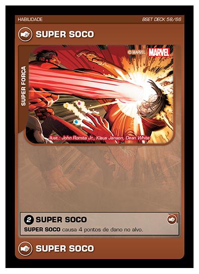 Battle Scenes BSET DECK 058 Super Soco