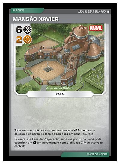 Battle Scenes BSMI 051 Mansão Xavier - Raro