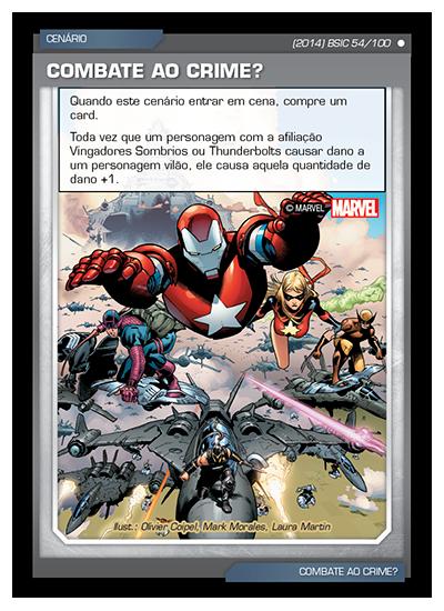 Battle Scenes BSIC 054 Combate ao Crime? - Comum