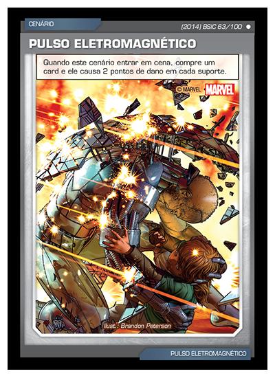 Battle Scenes BSIC 063 Pulso Eletromagnético - Comum