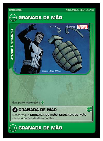 Battle Scenes BSIC DECK 040 Granada de Mão