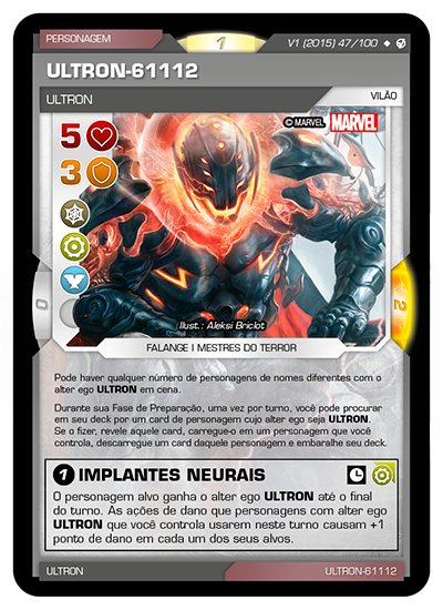 Battle Scenes BSIV 047 Ultron-61112 - Super Raro