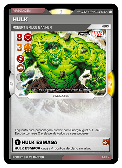 Battle Scenes BSOS DECK 012 Hulk