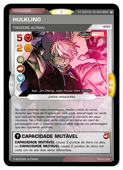 Battle Scenes BSOS DECK 015 Hulkling