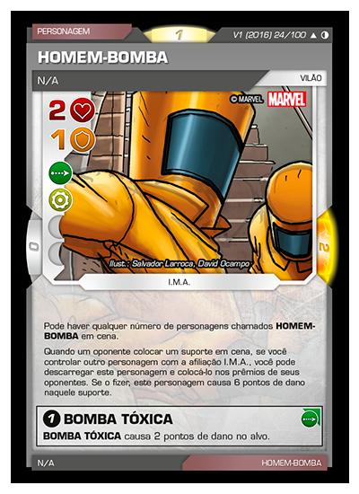 Battle Scenes BSGC 024 Homem-Bomba - Incomum