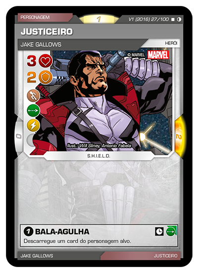 Battle Scenes BSGC 027 Justiceiro - Raro