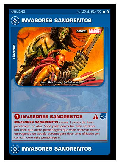 Battle Scenes BSGC 082 Invasores Sangrentos - Raro