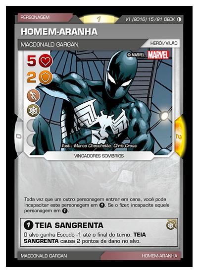 Battle Scenes BSGC DECK 015 Homem-Aranha