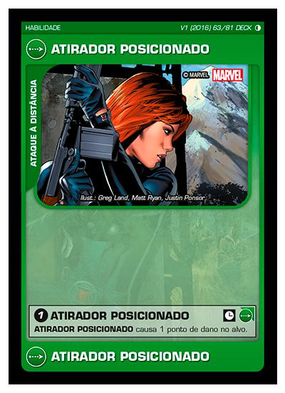 Battle Scenes BSGC DECK 063 Atirador Posicionado