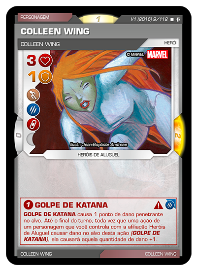 Battle Scenes BSAQ 009 Colleen Wing - Raro