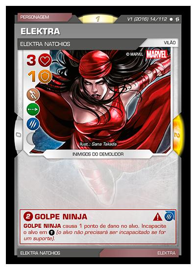 Battle Scenes BSAQ 014 Elektra - Comum