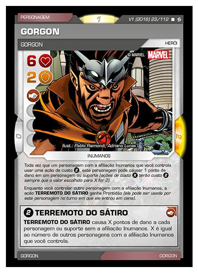 Battle Scenes BSAQ 023 Gorgon - Raro
