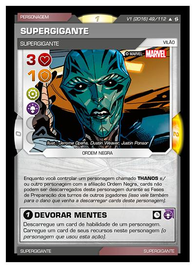 Battle Scenes BSAQ 049 Supergigante - Incomum
