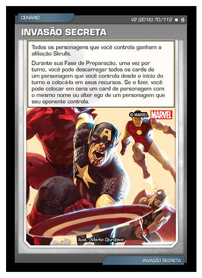 Battle Scenes BSAQ 070 Invasão Secreta - Comum