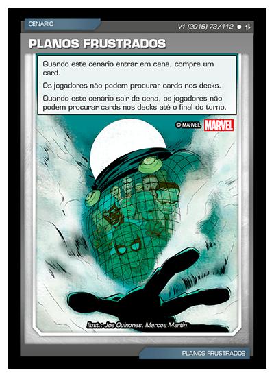 Battle Scenes BSAQ 073 Planos Frustrados - Comum