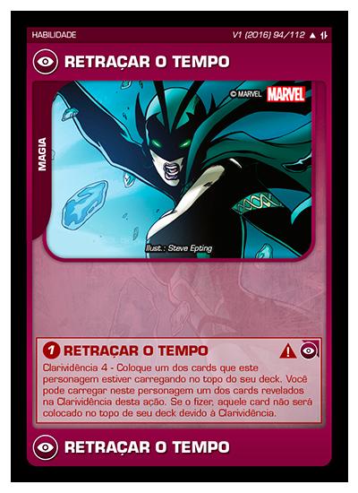 Battle Scenes BSAQ 094 Retraçar o Tempo - Incomum