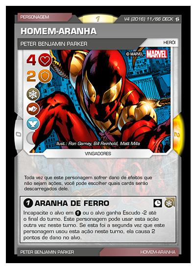 Battle Scenes BSAQ DECK 011 Homem-Aranha - foil