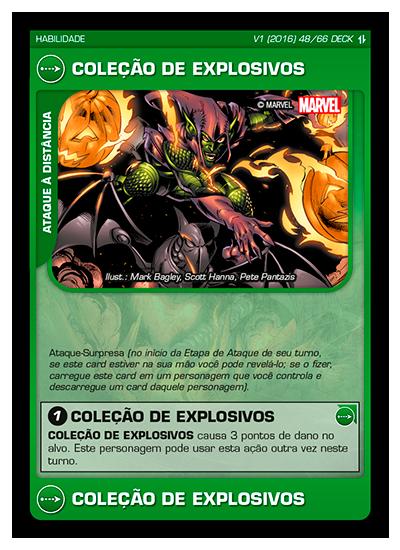 Battle Scenes BSAQ DECK 048 Coleção de Explosivos