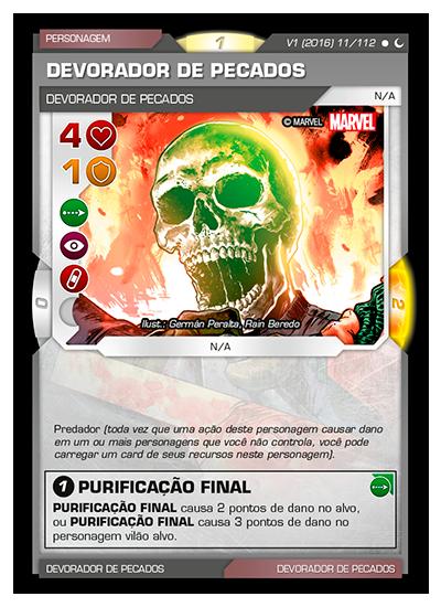 Battle Scenes BSDS 011 Devorador de Pecados - Comum