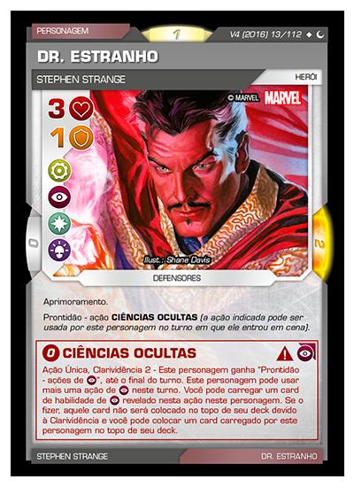 Battle Scenes BSDS 013 Dr. Estranho - Super Raro