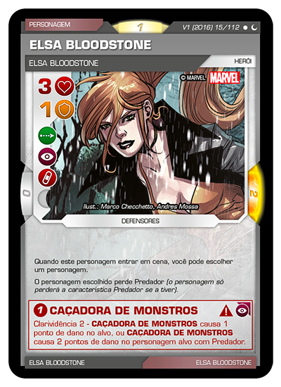 Battle Scenes BSDS 015 Elsa Bloodstone - Comum