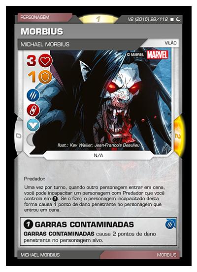 Battle Scenes BSDS 028 Morbius - Raro