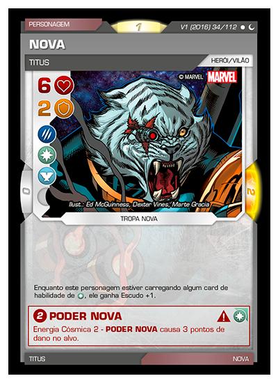 Battle Scenes BSDS 034 Nova - Comum