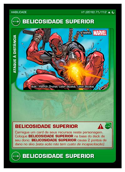 Battle Scenes BSDS 071 Belicosidade Superior - Incomum