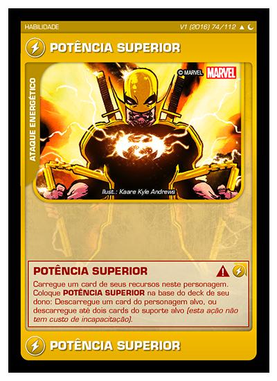 Battle Scenes BSDS 074 Potência Superior - Incomum