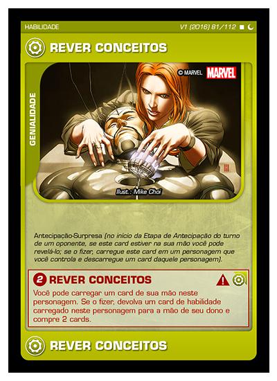 Battle Scenes BSDS 081 Rever Conceitos - Raro