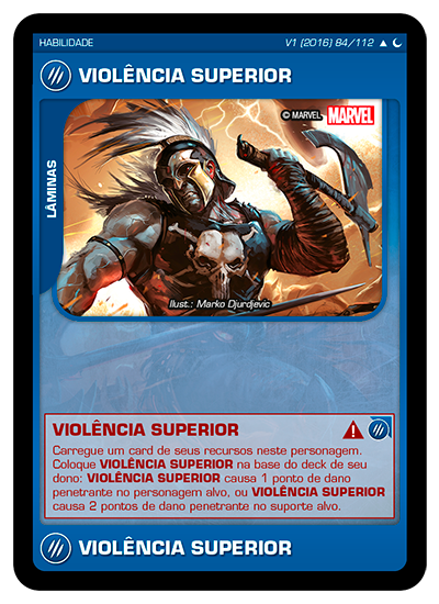 Battle Scenes BSDS 084 Violência Superior - Incomum