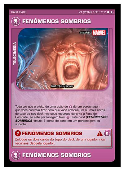 Battle Scenes BSDS 105 Fenômenos Sombrios - Raro