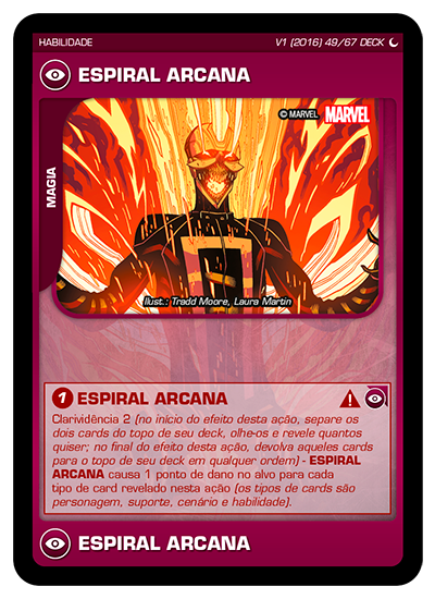 Battle Scenes BSDS DECK 049 Espiral Arcana