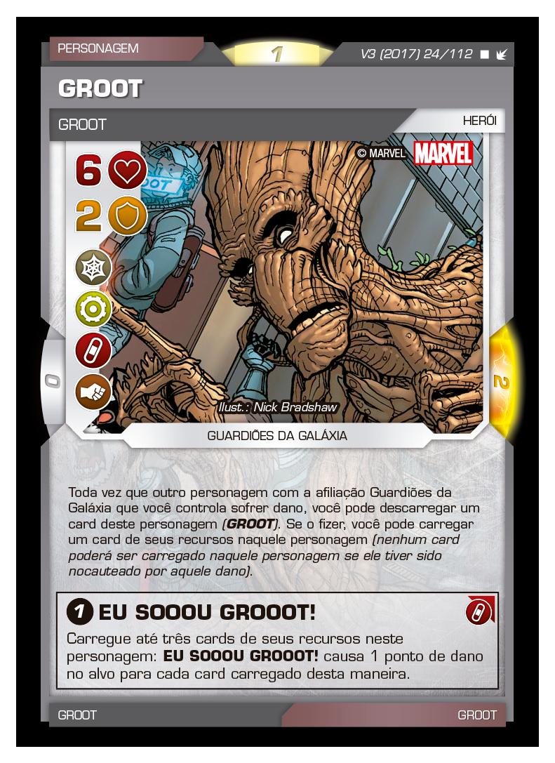 Battle Scenes BSFE 024 Groot - Raro