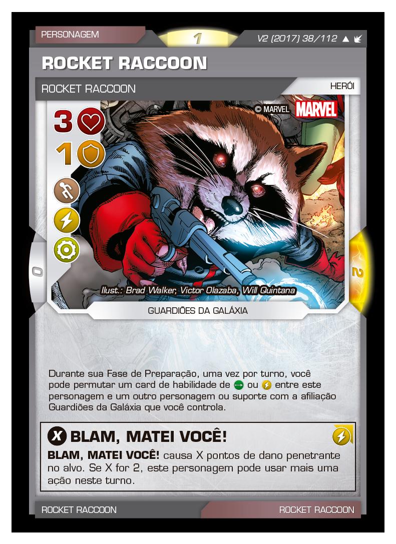 Battle Scenes BSFE 038 Rocket Raccoon - Incomum