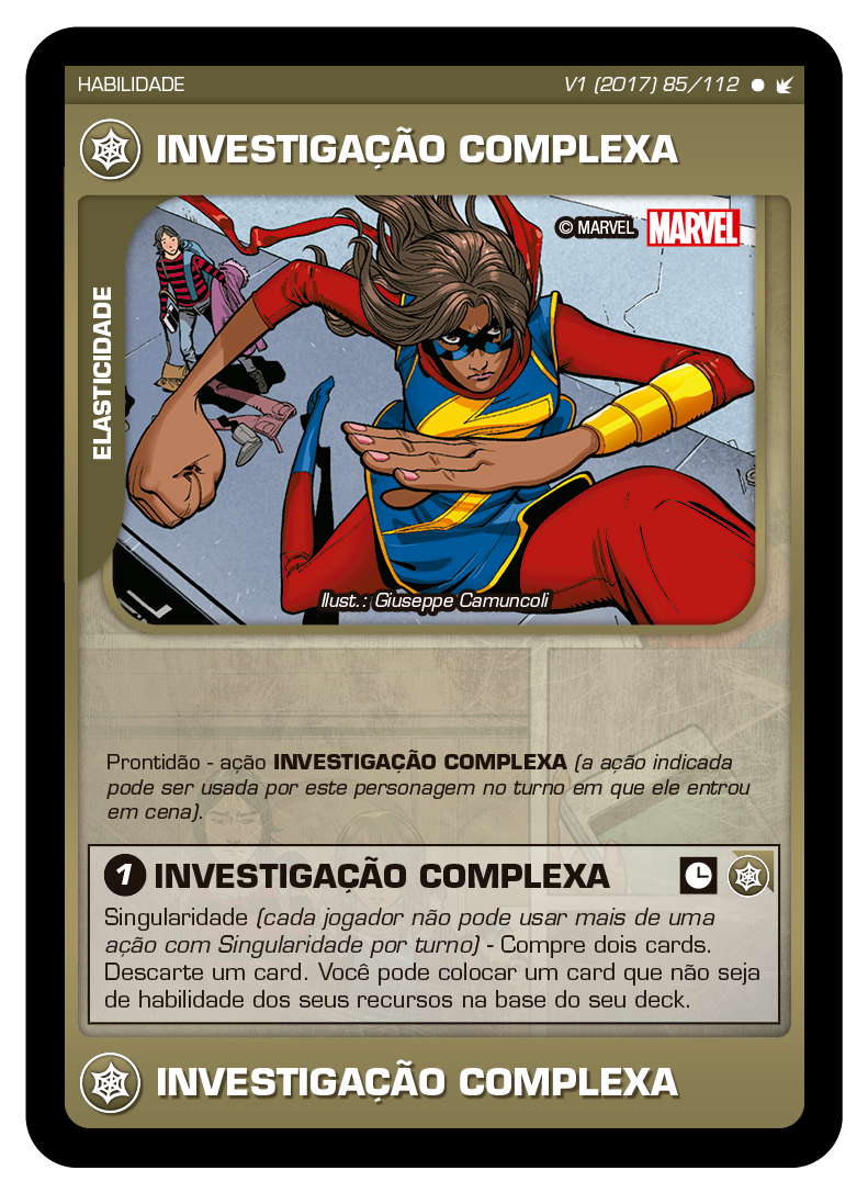 Battle Scenes BSFE 085 Investigação Complexa - Comum