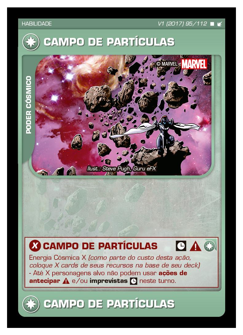 Battle Scenes BSFE 095 Campo de Partículas - Raro