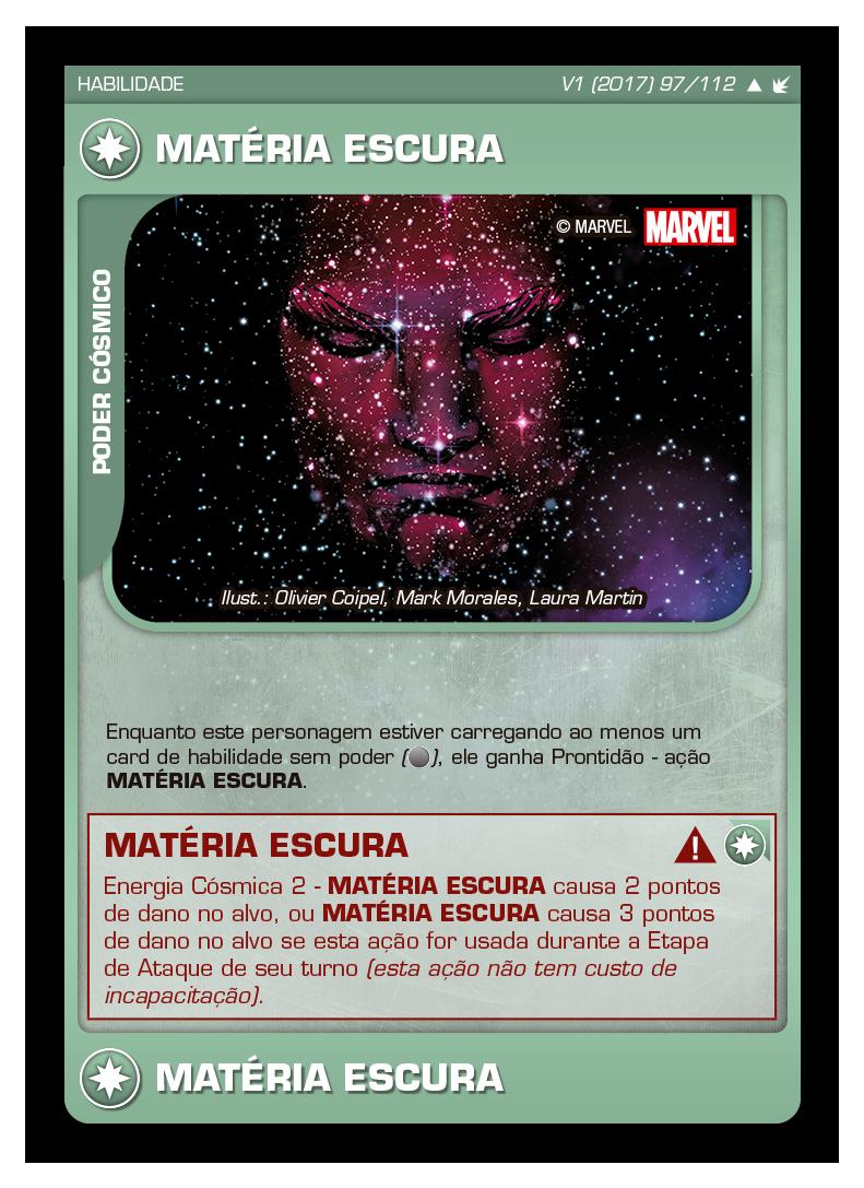 Battle Scenes BSFE 097 Matéria Escura - Incomum