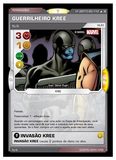 Battle Scenes BSCA 023 Guerrilheiro Kree - Incomum